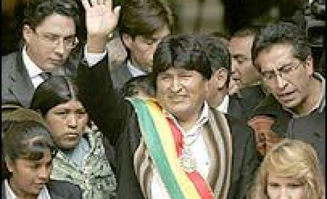 Bolivia's New Leader Vows Change