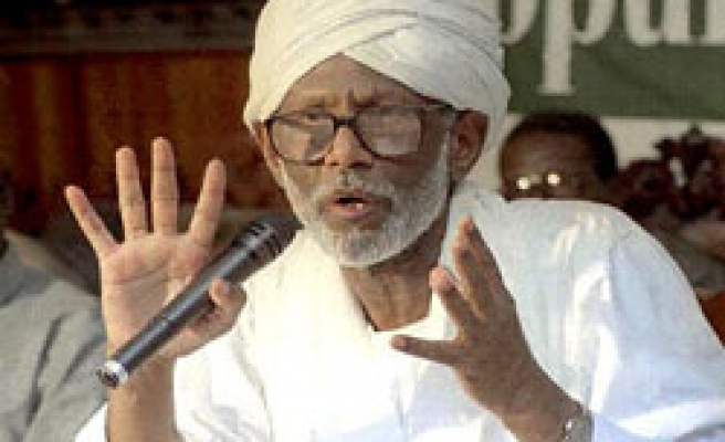 Sudan arrests opposition leader Turabi