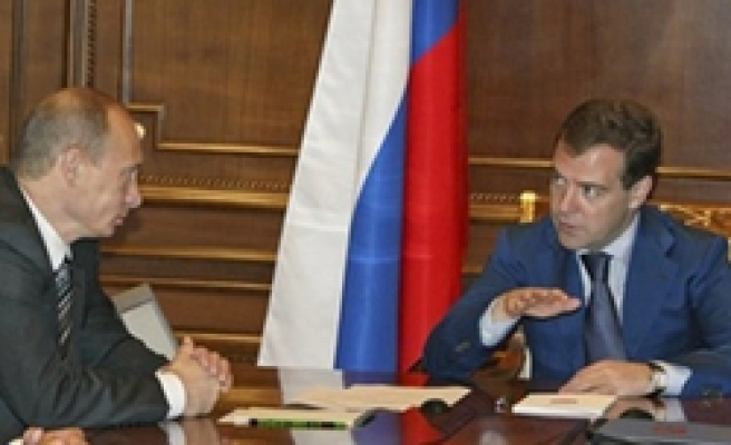 Russia's Medvedev has rift with Putin over ecology