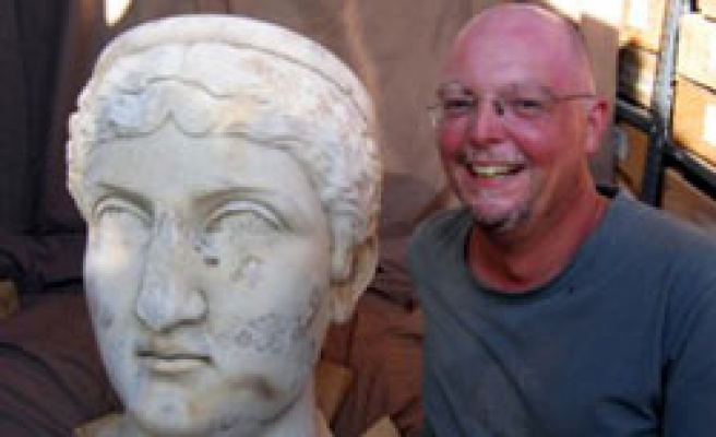 Bust of Roman Emperor wife unearthed in Turkey