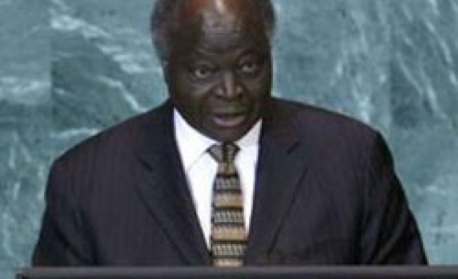 Kenya's Kibaki suspends minister over hate speech charges