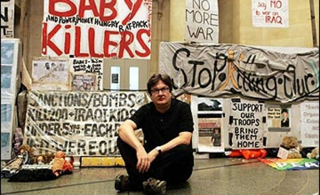Iraq protest camp shortlisted for Turner Prize