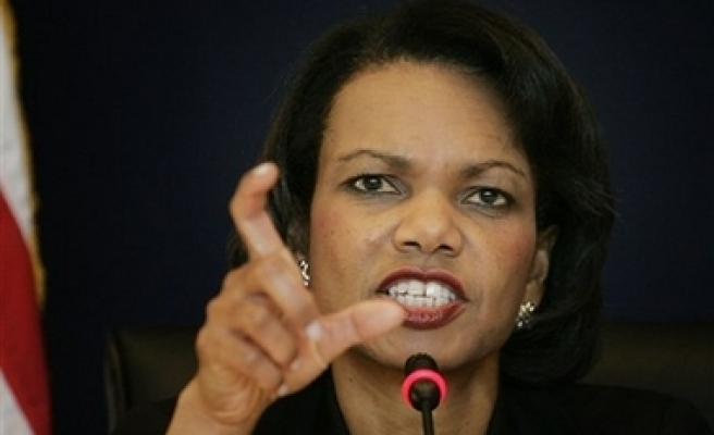 Rice to talk about missile shield in Moscow