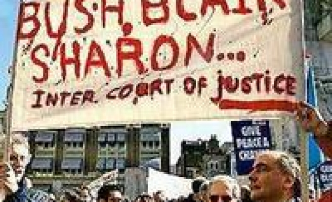 Sharon, Bush and Blair Must Face Real Trial