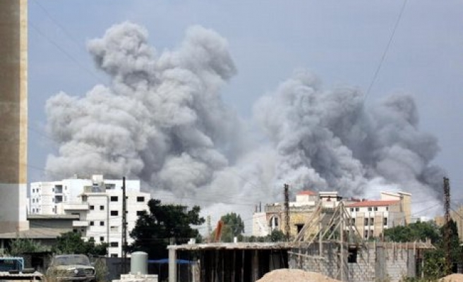 Fighting continues in Lebanon camp