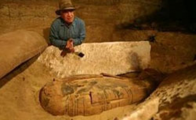 About 50 mummies discovered in Egypt's Valley of the Kings
