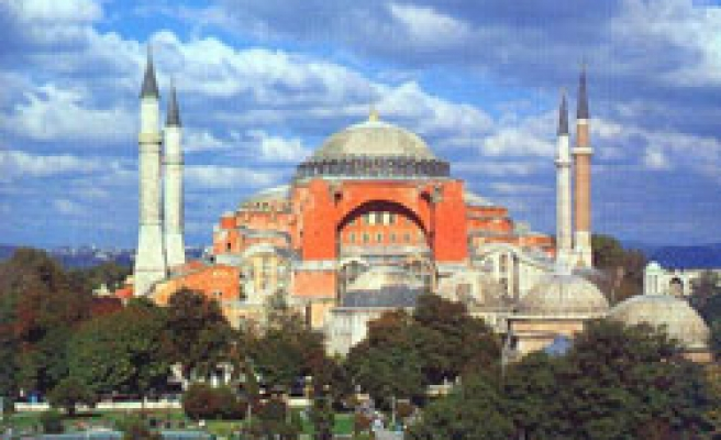 Turkey to display Hagia Sophia treasures for first time