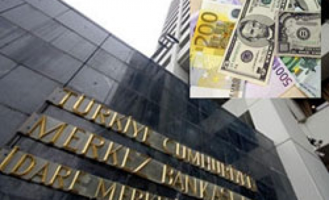 Foreign exchange reserves of Turkey's C.Bank drops