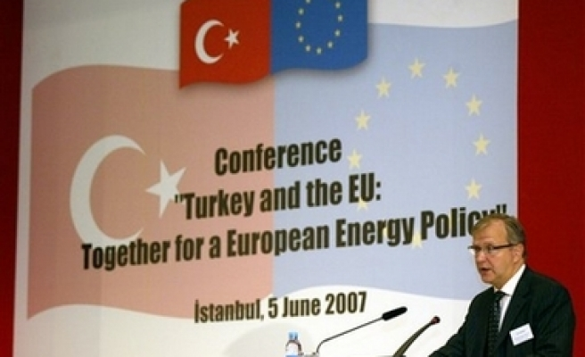 Rehn: EU-Turkey never stop
