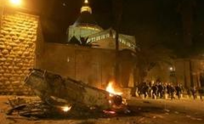 Jews Storm Nazareth Church With Fireworks, Canisters