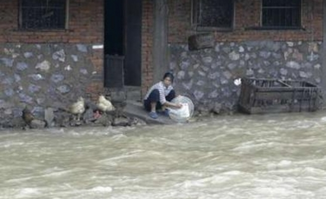 Floods leave 47 dead or missing in China