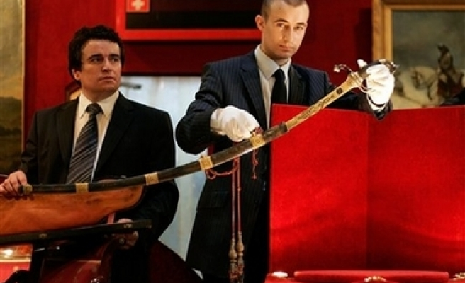Napoleon's sword sold for $6.4 million