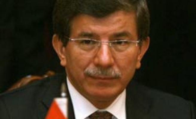 Security based military power not bring peace to M.East, says Davutoglu