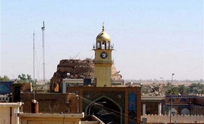 Famous Golden Dome shrine attacked in Iraq
