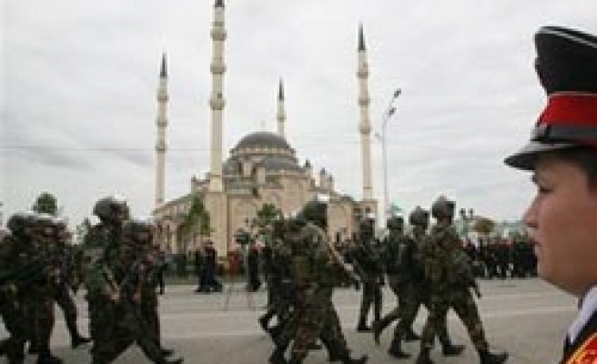 Blast heard in Chechnya's Grozny