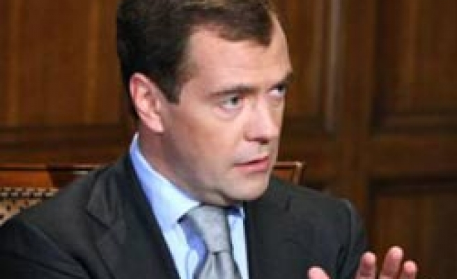 Russia's Medvedev sacks Ingush interior minister after bombing