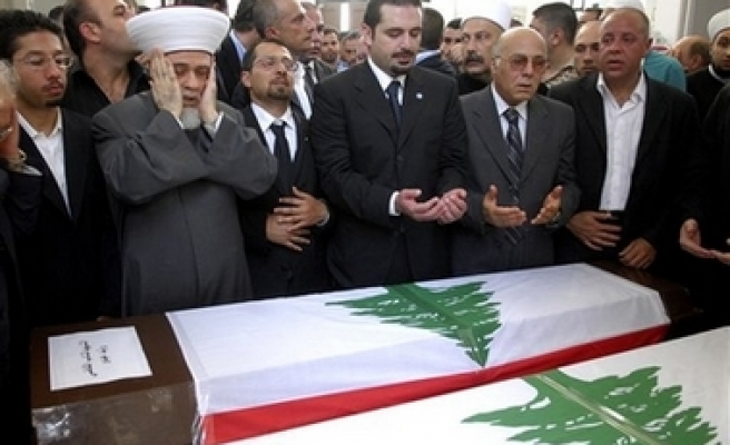 One day of mourning, funeral held for killed politician in Lebanon