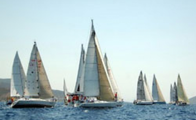Sailing race from Turkey to France starts in Istanbul