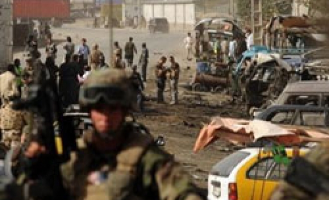Car bomb jars NATO base at Afghan airport / PHOTO