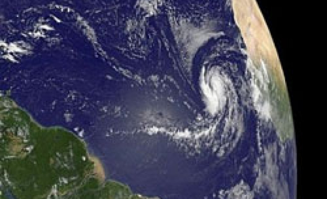Hurricane Fred grows to Category 3 storm over eastern Atlantic