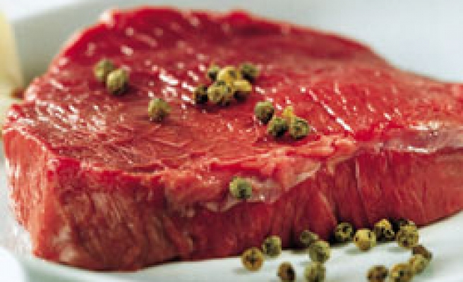 Turkey produces 780,718 tons of red meat in 2010