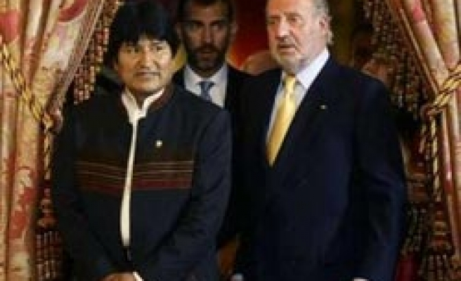 Bolivia president wants UN help for communications satellite