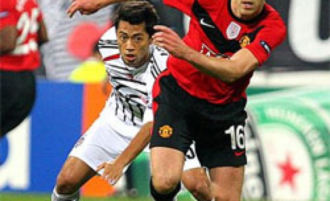 Turkey's Besiktas defeated by Manchester United 1-0