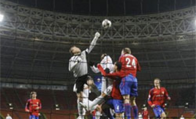 Turkey's Besiktas defeated by Russian CSKA Moscow 2-1