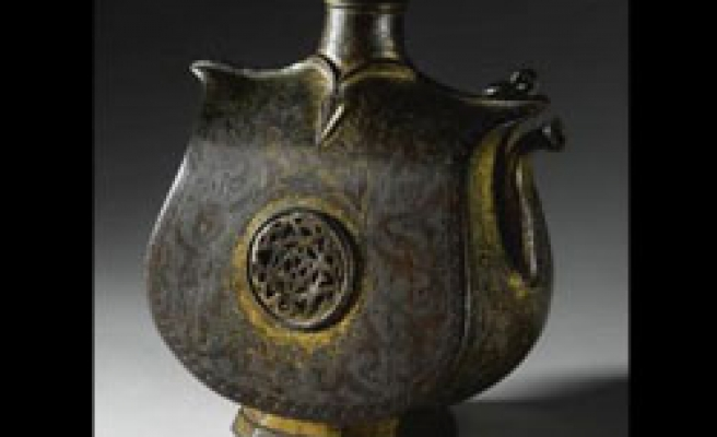 Rare Ottoman tombak, chain-mail auctioned in London / PHOTO