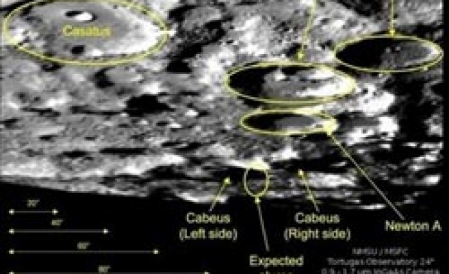 US blasts moon's surface in search for water / VIDEO