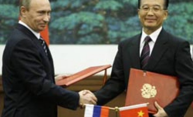 Russia, China sign agreement on gas supply