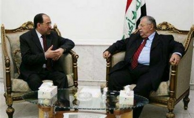 Bush has video teleconference with Iraqi leaders