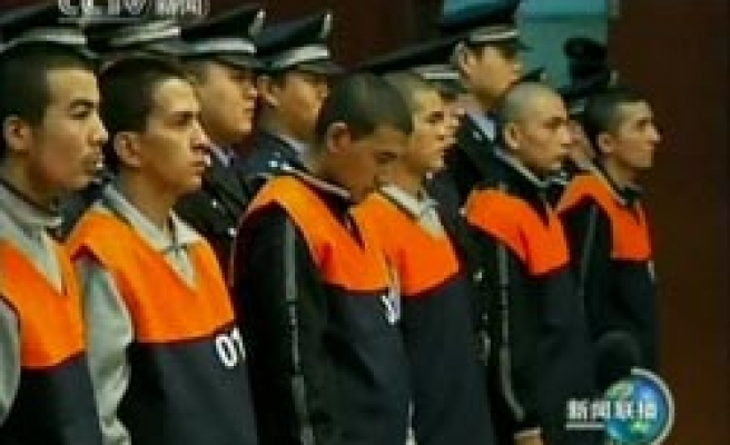 China sentences six more to death over Uighur protests