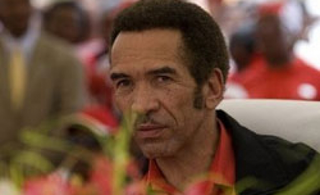 Botswana's President Khama wins new term