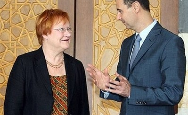 Assad says cooperation with Europe Syria's priority