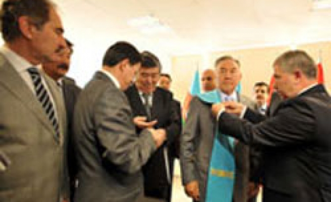 Turkish university gives Kazakh leader with 'honorary doctorate'