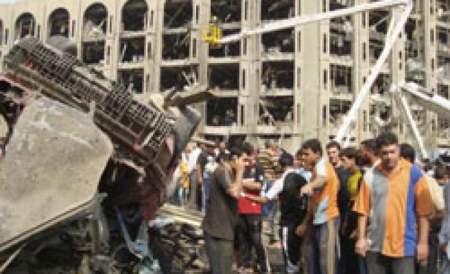 Twin car bombs kill over 100 in Iraqi capital