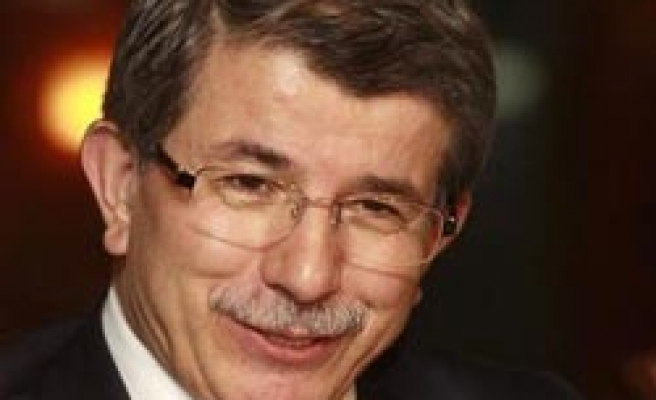 FM Davutoglu meets new Turkish Cyprus president