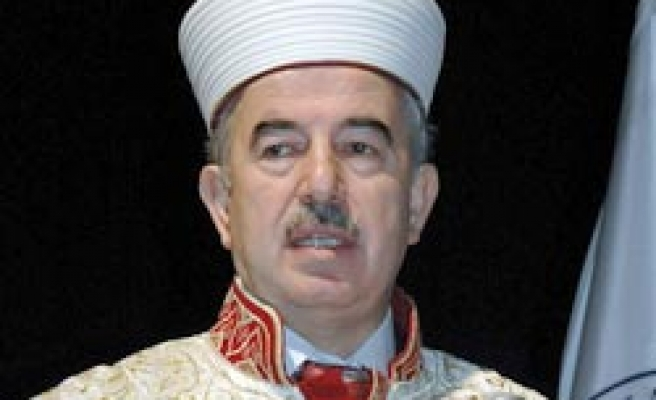 Turkey's top religious official meets Syria's Assad