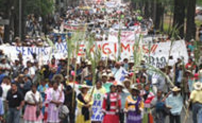 10,000 Protest at Water Summit