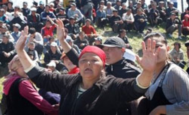 Minority farmer killed as Kyrgyz attackers burn Turkish village