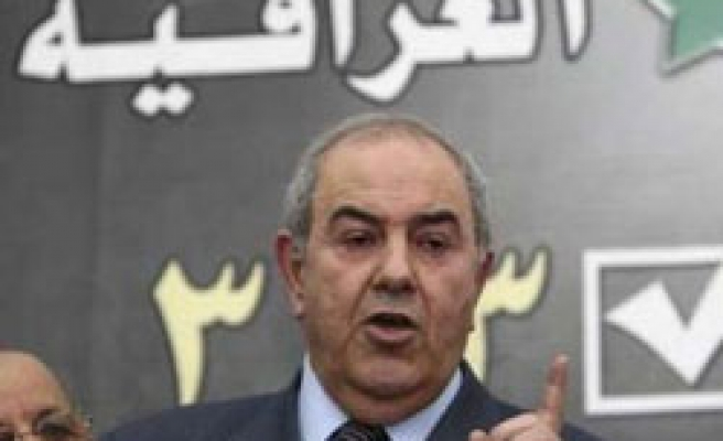 Iraq's Allawi bloc supports vote recount in Baghdad