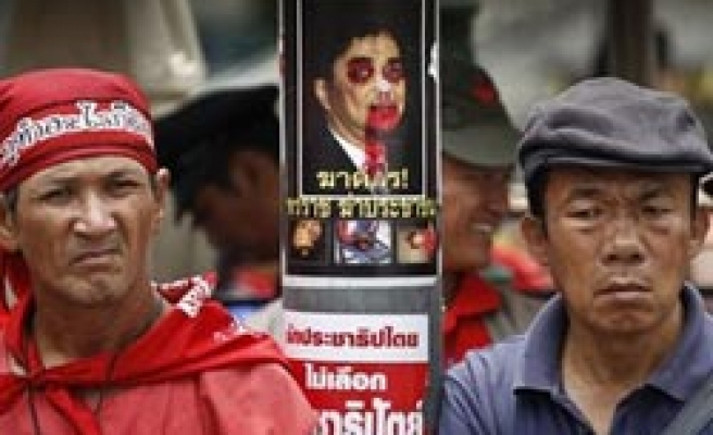 Thai PM rejects red shirt' peace offer