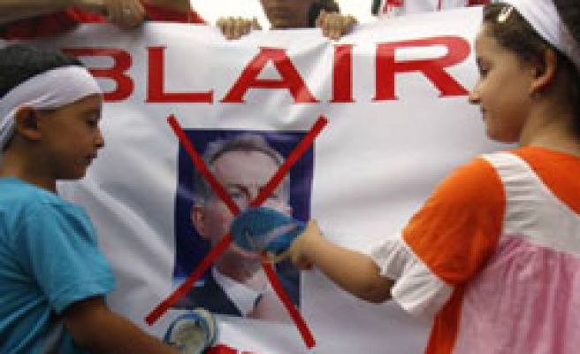 Malaysians protest ex-British PM over Iraq invasion / PHOTO