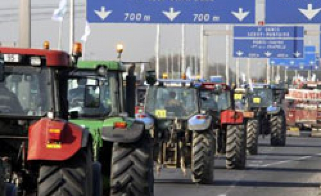 Thousands of French farmers protest against low prices