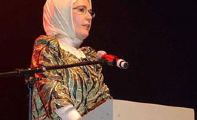 Muslim women victims of West invasions: Turkish PM's wife