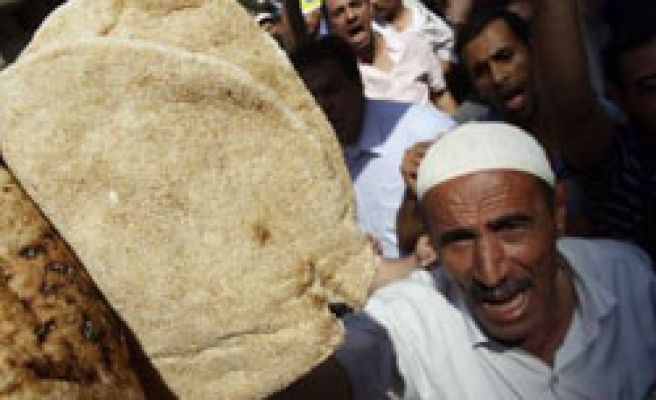 Egyptians protest over minimum wage of $6 a month