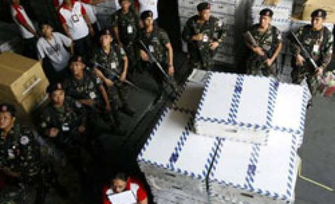Philippines recalls vote-counting cards over faults