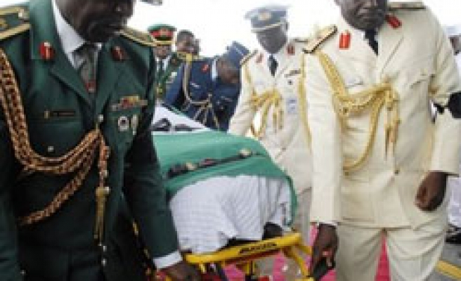 Thousands of Nigerian mourners gather for Yar'adua's funeral