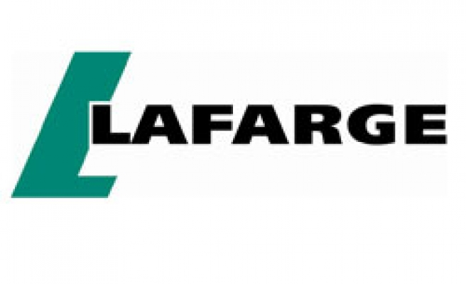 French cement maker Lafarge opens Iraq plant renovation